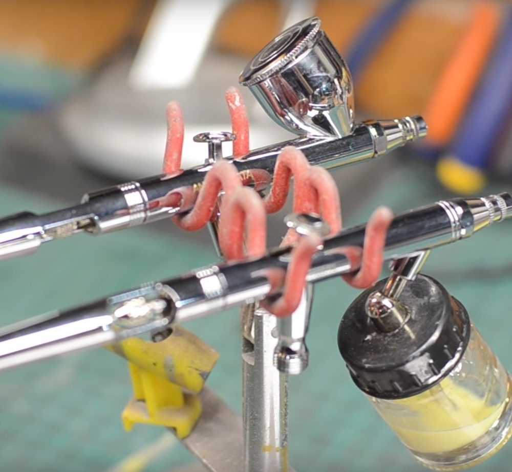 Additional Equipment (Airbrushing)