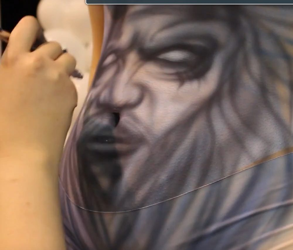 Airbrushing: Body Art