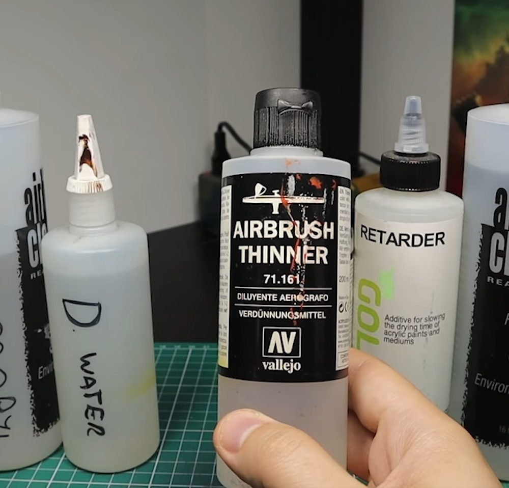 Paints for Airbrushing
