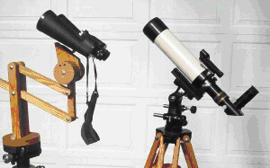 Telescopes or Binoculars: What is the best way to observe faintly visible objects?